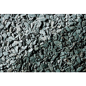 Wickes Decorative Green Slate Chippings - Jumbo Bag