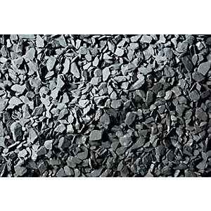 Wickes Blue Slate Chippings - Major Bag