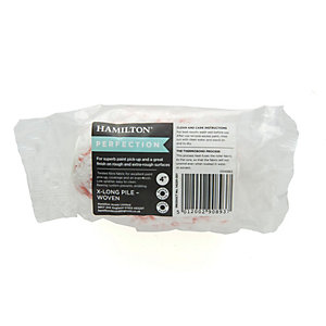 Image of Hamilton Perfection Midi Extra Long Pile Roller Sleeve - 4in