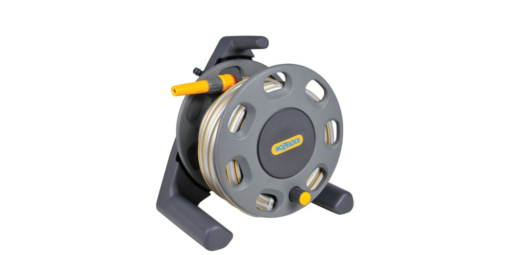 Hozelock 2412 Compact Reel with Hose Pipe - 25m
