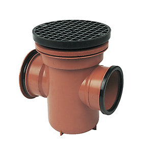 FloPlast D540 Bottle Gully Trap - Terracotta 110mm