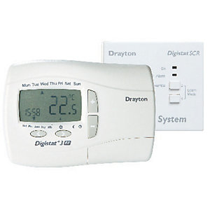 Image of Drayton Digistat RF701 Wireless 7 Day Room Thermostat