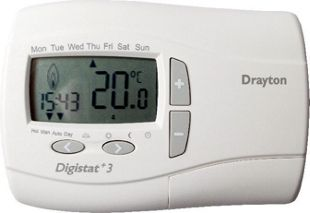 Drayton digistat 3 7 day wired programmable thermostat wickes mouse over image for a closer look cheapraybanclubmaster Choice Image