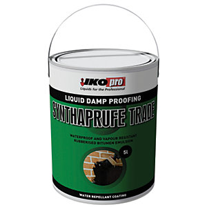 Image of Ikopro Synthaprufe Trade Damp Proofing Liquid - 5L