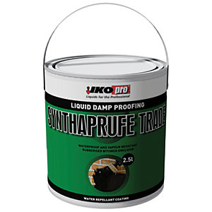 Image of Ikopro Synthaprufe Trade Damp Proofing Liquid - 2.5L