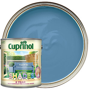 Image of Cuprinol Garden Shades Matt Wood Treatment - Forget-Me-Not 2.5L