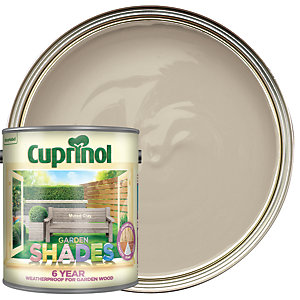 Cuprinol Garden Shades Matt Wood Treatment - Muted Clay 2.5L