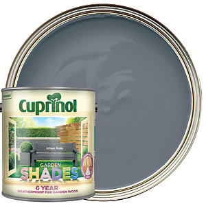 Cuprinol Garden Shades Matt Wood Treatment - Urban Slate 2.5L