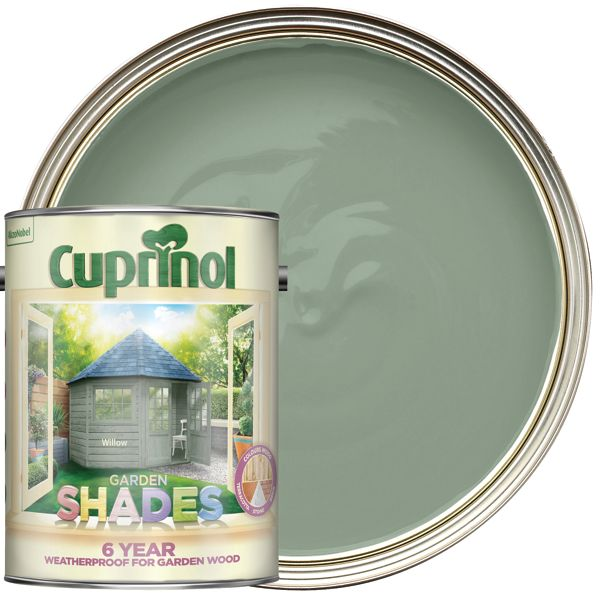 Cuprinol 2.5L Garden Shades Matt Wood Treatment - Willow