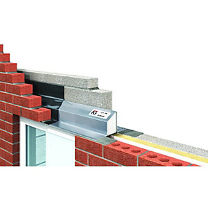 Image of IG Ltd 95-100mm Steel Cavity Wall Lintel - 2400mm