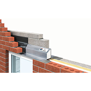 Image of IG Ltd 75-90mm Steel Cavity Wall Lintel - 1200mm