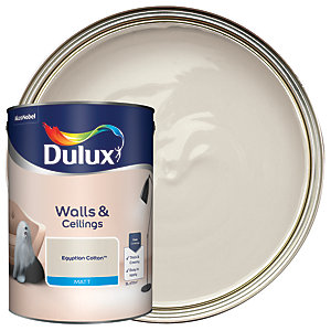 Dulux - Egyptian Cotton - Matt Emulsion Paint 5L