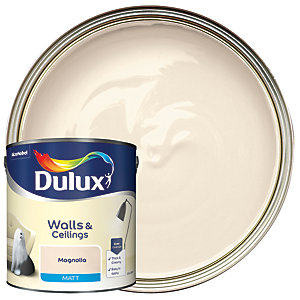 Dulux - Magnolia - Matt Emulsion Paint 2.5L
