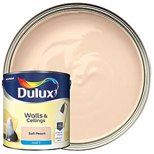 Dulux - Soft Peach - Matt Emulsion Paint 2.5L