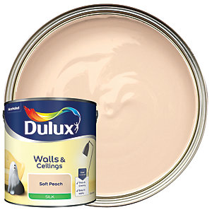 Dulux - Soft Peach - Silk Emulsion Paint 2.5L