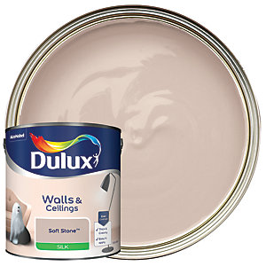 Dulux - Soft Stone - Silk Emulsion Paint 2.5L