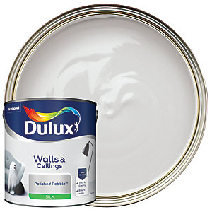 Dulux - Polished Pebble - Silk Emulsion Paint 2.5L