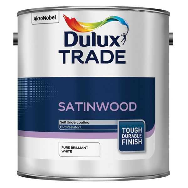 Dulux Trade Satinwood PBW 2.5L