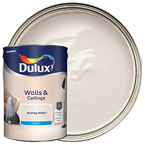 Dulux - Nutmeg White - Matt Emulsion Paint 5L