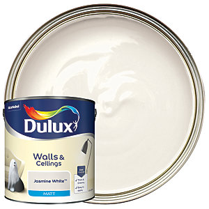 Dulux - Jasmine White - Matt Emulsion Paint 2.5L