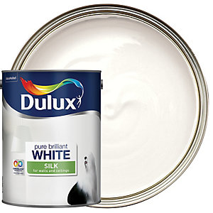 Dulux - Pure Brilliant White - Silk Emulsion Paint 5L