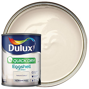 Dulux Quick Dry Eggshell Paint - Natural Calico 750ml
