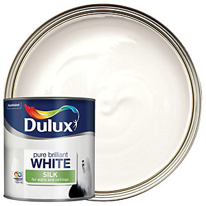 Dulux - Pure Brilliant White - Silk Emulsion Paint 2.5L