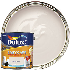 Dulux Easycare Washable & Tough - Nutmeg White - Matt Emulsion Paint 2.5L
