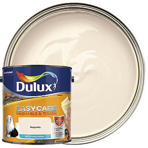 Dulux Easycare Washable & Tough - Magnolia - Matt Emulsion Paint 2.5L