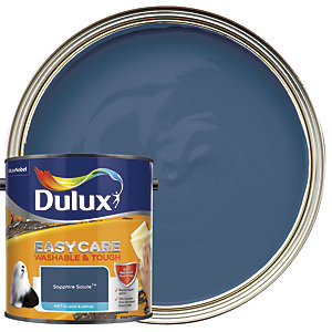Dulux Easycare Washable & Tough - Sapphire Salute - Matt Emulsion Paint 2.5L