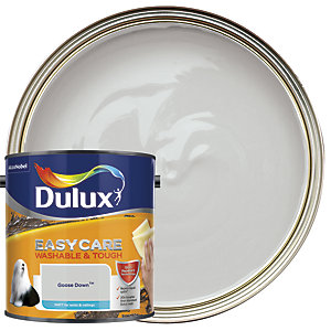 Dulux Easycare Washable & Tough - Goose Down - Matt Emulsion Paint 2.5L