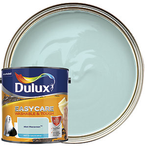 Dulux Easycare Washable & Tough - Mint Macaroon - Matt Emulsion Paint 2.5L