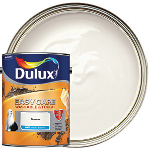 Dulux Easycare Washable & Tough - Timeless - Matt Emulsion Paint 5L