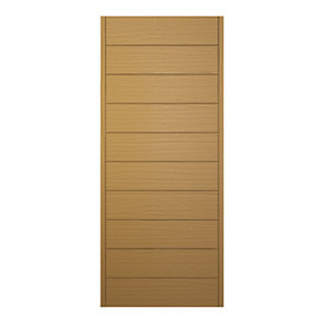 Wickes Oslo External Oak Door 2032 x 813mm