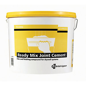 Image of Gyproc Ready Mixed Joint Cement - 12L