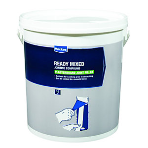 Image of Wickes Ready Mixed Plasterboard Jointing Compound - 10kg