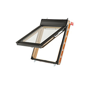 Keylite Pine Top Hung Means of Escape Roof Window