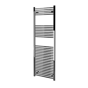 Kudox Straight Towel Radiator - Chrome 600 x 1800 mm