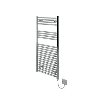 Image of Kudox Flat Electric Towel Radiator - Chrome 500 x 1100 mm