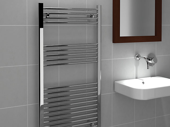 Kudox Straight Towel Radiator 600 X 1200 mm