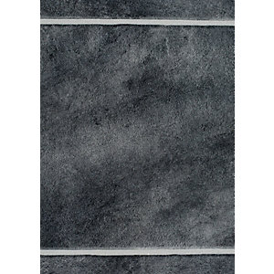 Image of Wickes Anthracite Tile Laminate Sample