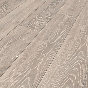 Wickes Shimla Grey Oak Laminate Flooring 2 22m2 Pack