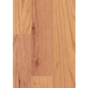 Wickes Natural Oak Laminate Flooring Sample