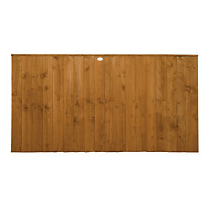 Forest Garden Dip Treated Featheredge Fence Panel - 6x3ft Multi Packs
