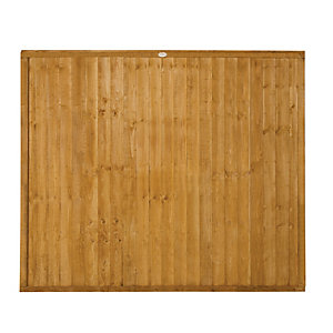 Forest Garden Dip Treated Closeboard Fence Panel - 6x5ft Multi Packs