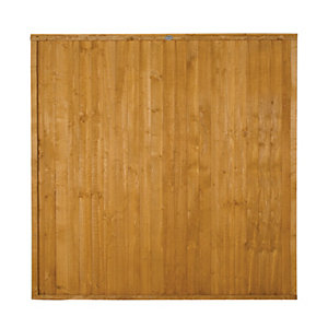 Forest Garden Dip Treated Closeboard Fence Panel - 6x6ft Multi Packs