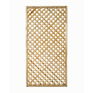 Wickes Diamond Lattice Trellis - 1.8m x 900mm