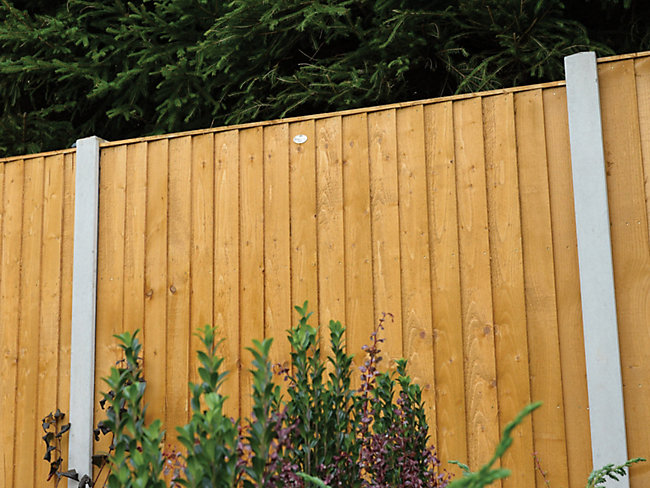 Dip Treated Featheredge Fence Panel 6 X 6ft