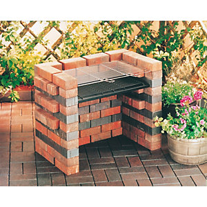Image of Landmann Do It Yourself Charcoal BBQ - Brick