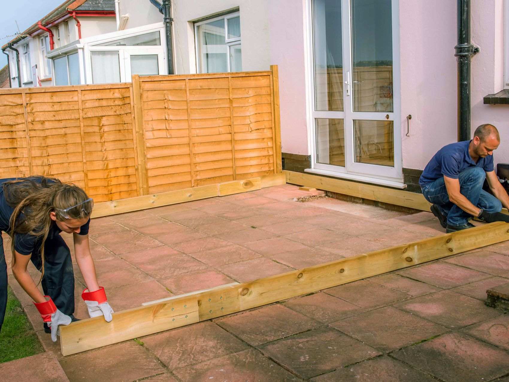 How To Lay A Deck Wickes